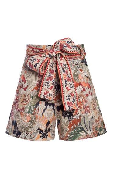 Lwin Metallic Fil Coupé Shorts
