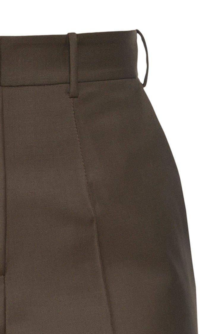 Tropical Wool Shorts