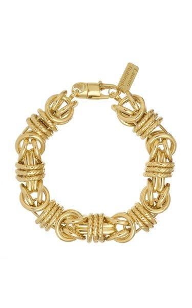 14K Yellow Gold Medium Lucky Gold Links Bracelet