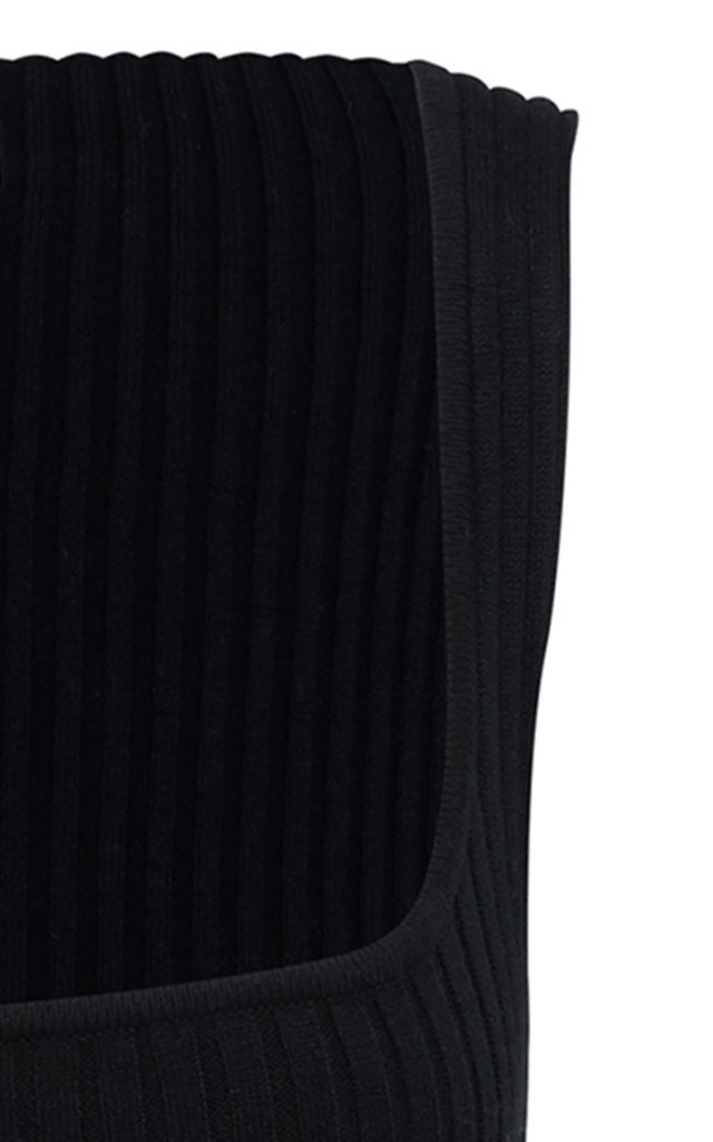 Dido Cotton Ribbed-Knit Dress