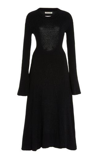 Isla Cotton Backless Midi Dress