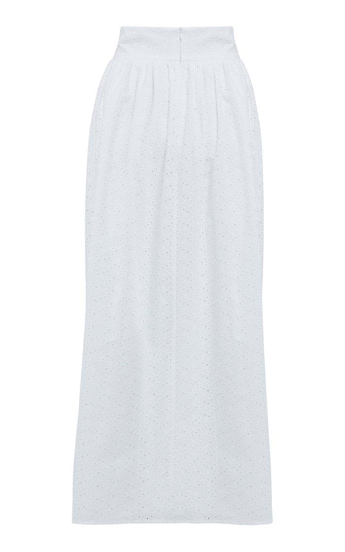 Sandrine Broderie Maxi Skirt