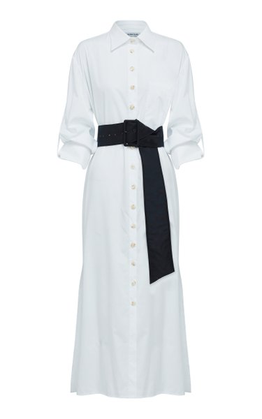 Marcella Belted Cotton Shirt Dress