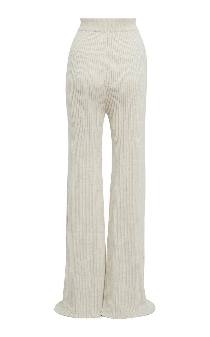 Rio Cotton Wide-Leg Pants