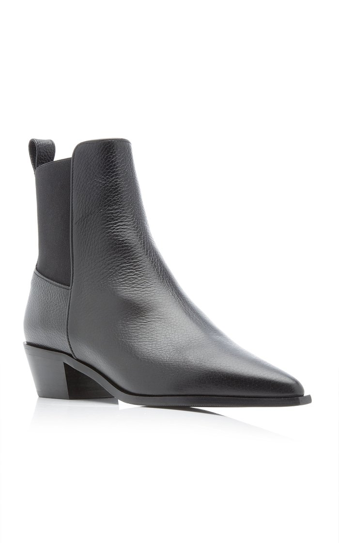 Willow Leather Ankle Boots