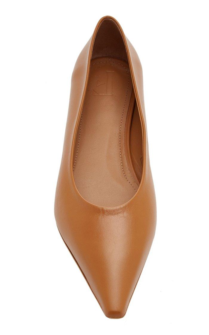 Poppy Leather Flats