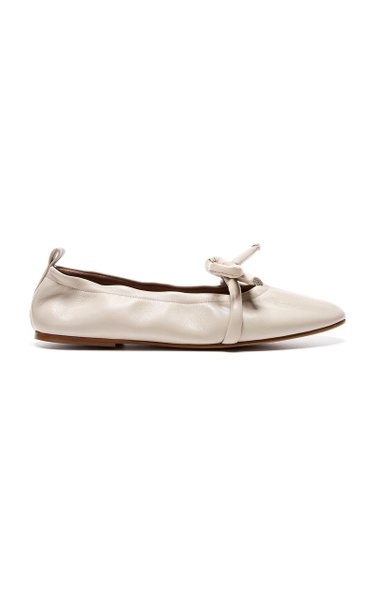 Polly Leather Ballet Flats
