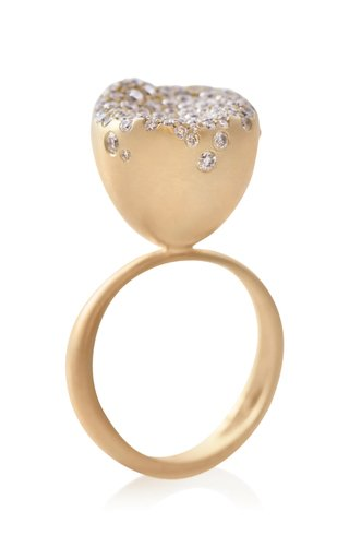 Baby Malak Flourish 18k Gold Medium Ring