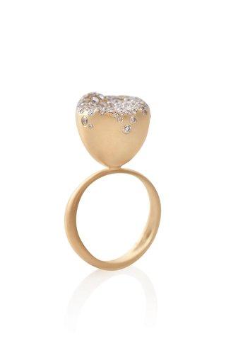 Baby Malak Flourish 18k Gold Medium Ring