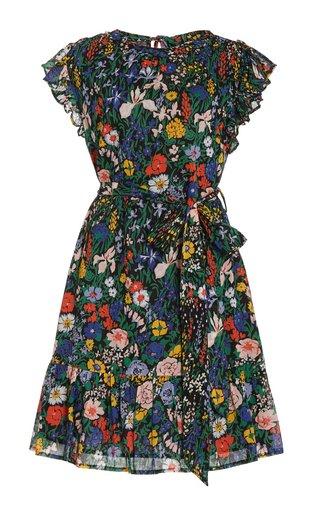 Lilian Floral Cotton Mini Dress