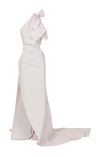 SpecialOrder-Indeliable Draped Crepe De Chine Gown-MM