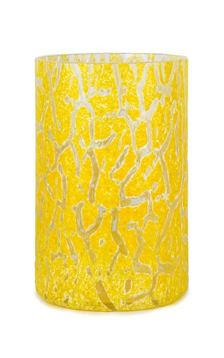 Cracklè Lemon Tall Vase