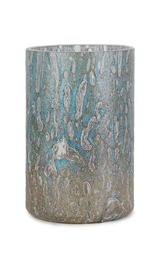 Cracklè Denim Tall Vase