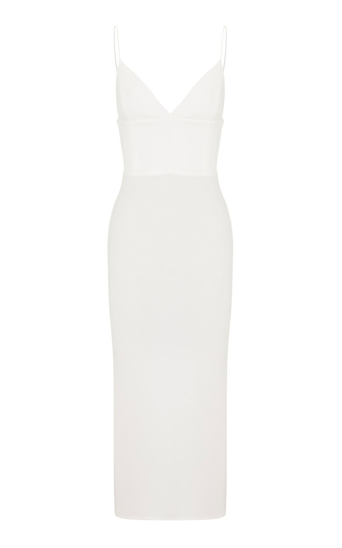 Deon Stretch Crepe Bikini Dress