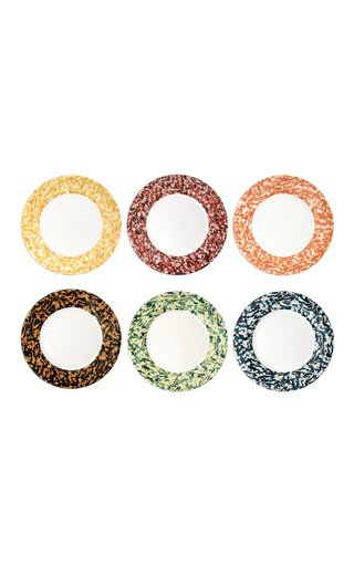 Macchia Su Macchia Set Of 6 Color Mix Plates