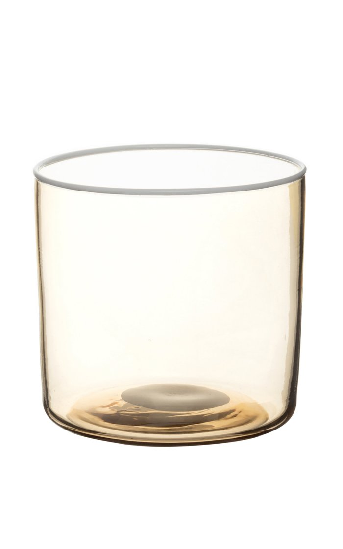 Set Of 2 Water Glasses White Spot & Rig
