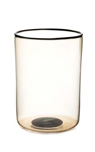 Set Of 2 Water Glasses Black Spot & Rig