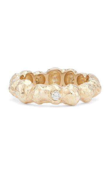 x Veneda Carter V 14K Gold Diamond Ring