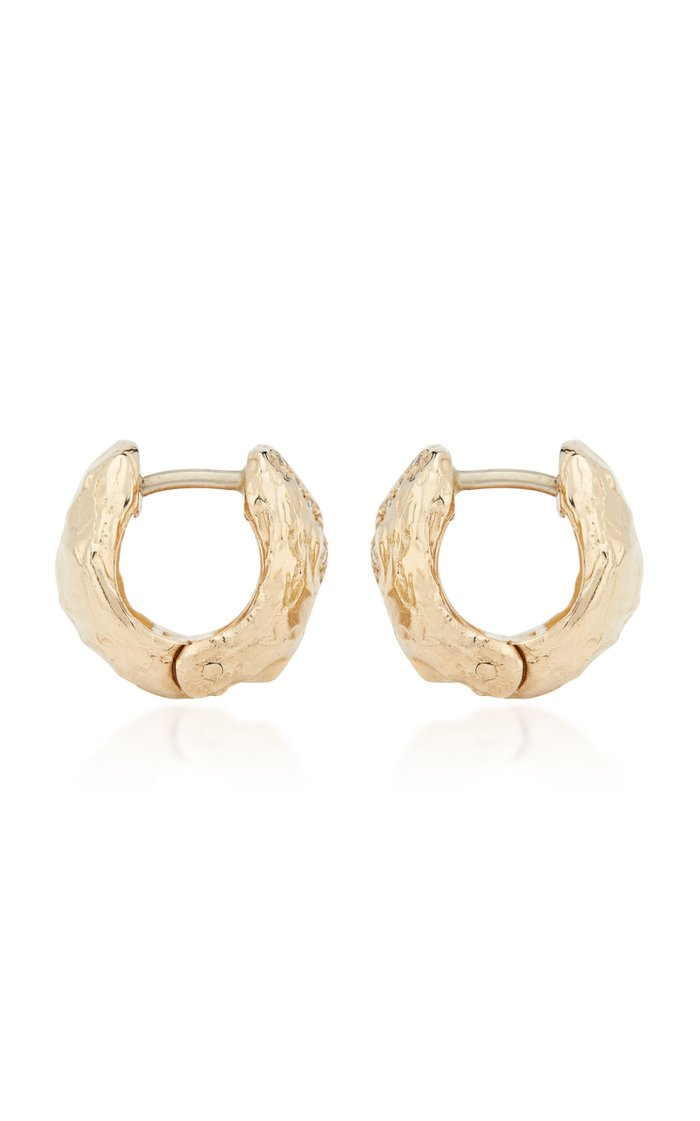x Veneda Carter V 14K Gold Diamond Earrings