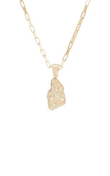 x Veneda Carter V 14K Gold Necklace