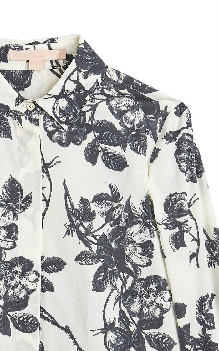 Sibilla Floral Cotton Shirt