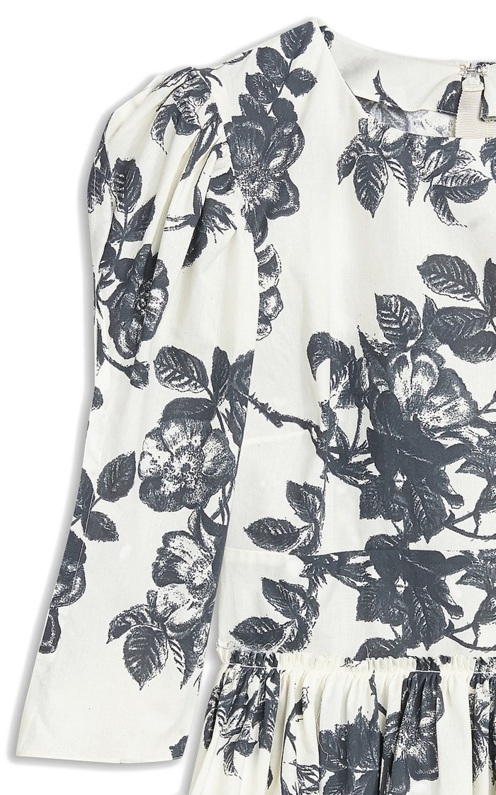 Sveva Printed Cotton Top