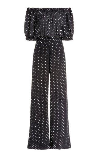 Juli Printed Silk Jumpsuit