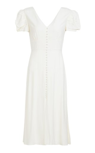 Margot Midi Crepe Dress