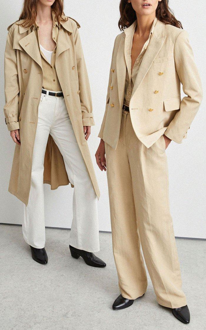 Henry Linen-Silk Blazer