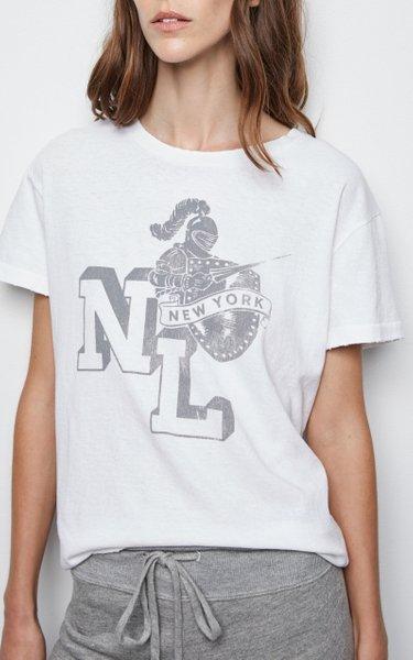 Brady Printed Cotton T-Shirt