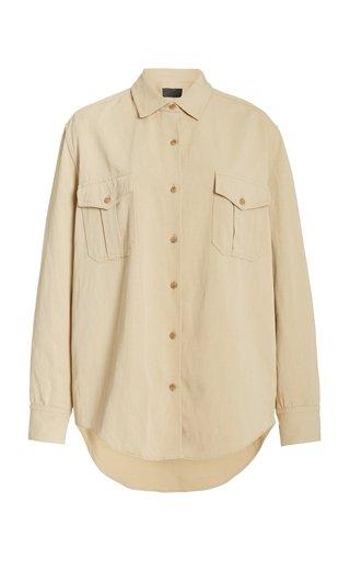 Troy Cotton Button-Down Shirt