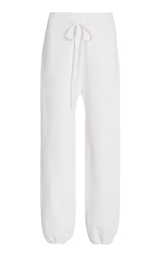 La Cotton-Blend Sweatpants