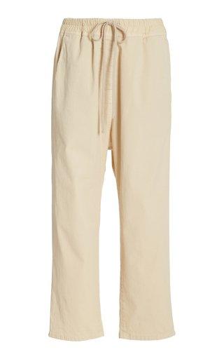 Casablanca Cotton Cropped Pants