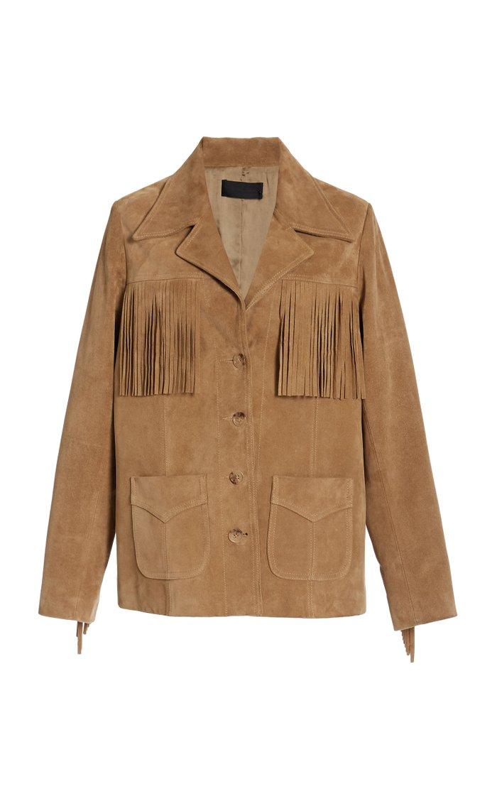Fran Suede Jacket