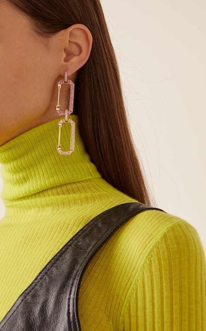 18K Yellow Gold Chiara Large Earring