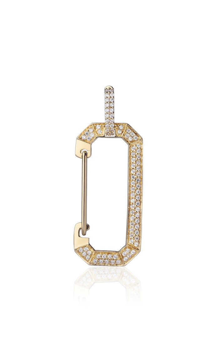 18K Yellow Gold Chiara Large Earring