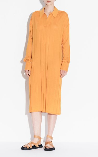 Merino Wool Knit Dress