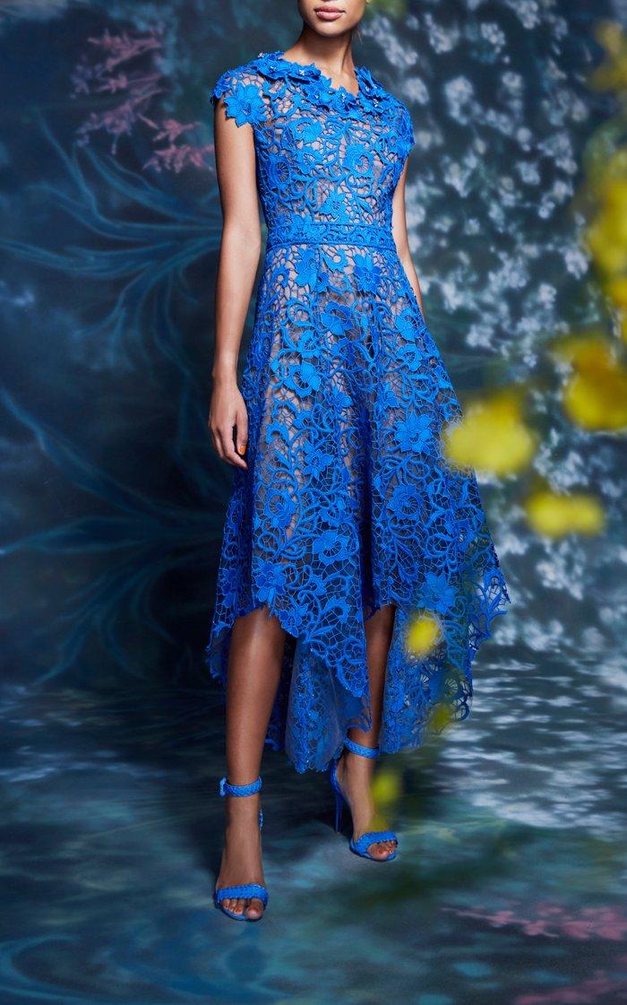 Guipure Lace Handkerfchief Dress