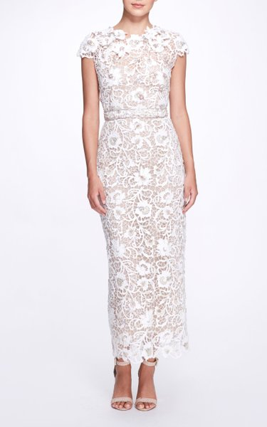 Guipure Lace Maxi Dress