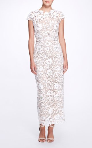Guipure Lace Maxi Dress