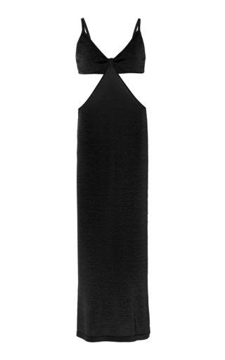 Serita Cutout Cotton-Knit Maxi Dress