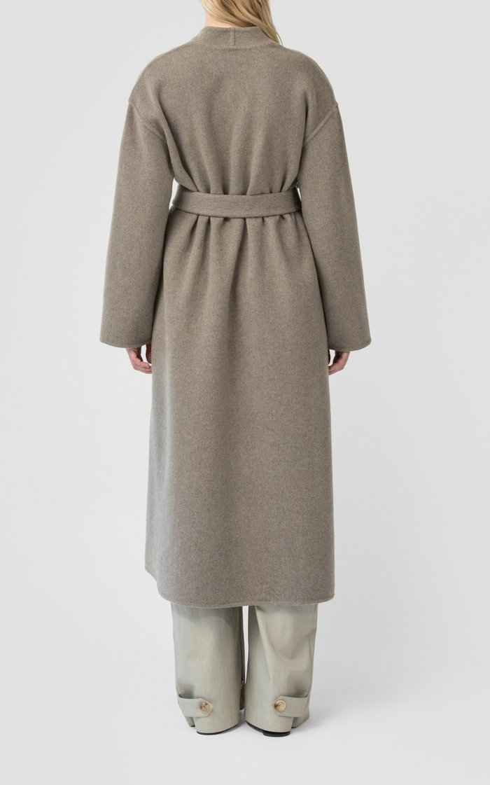Double Faced Belted Coat
