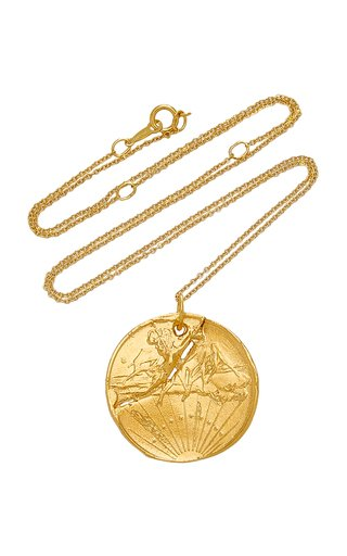 The Fractured Poet 24K Gold-Plated Necklace