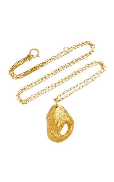 The Clouds in your Mind 24K Gold-Plated Necklace