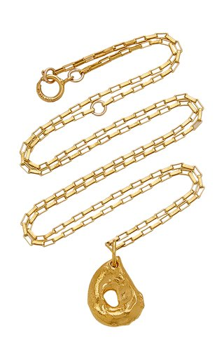 The Domain of Night 24K Gold-Plated Necklace