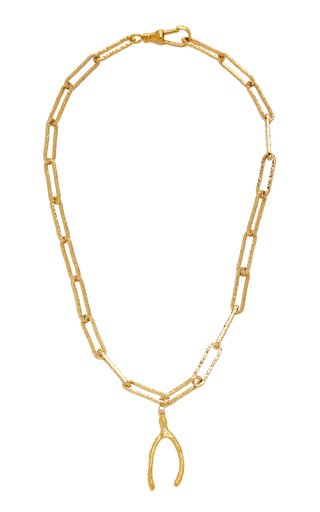 Past Follies 24K Gold-Plated Necklace