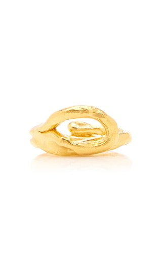 The Ancient Forest 24K Gold-Plated Ring