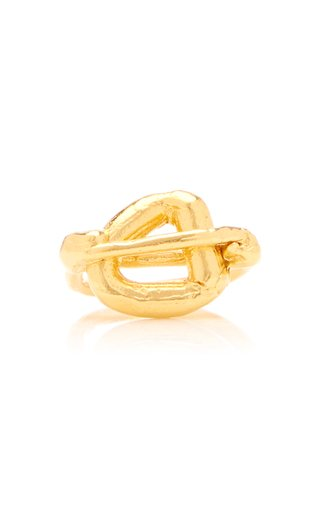 The Clouds in Your Mind 24K Gold-Plated Ring
