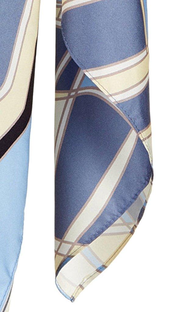 Gaia's Printed Silk Scarf