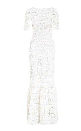 Candescent Crochet Cotton Dress